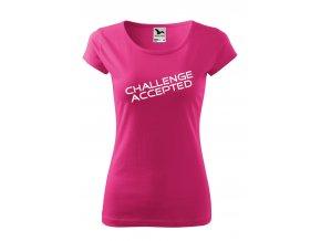 challenge accepted bílé D