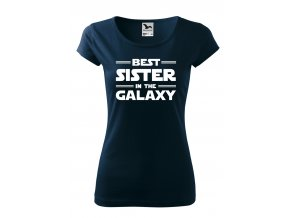best sister in the galaxy bílé D