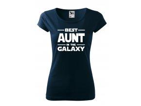 best aunt in the galaxy bílé D