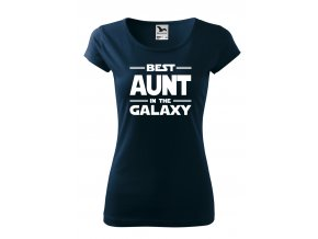 best aunt in the galaxy bílé D