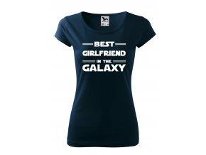 best girlfriend in the galaxy bílé D