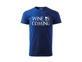 Wine is coming černé P
