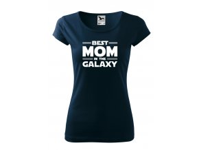 best mom in the galaxy bílé D