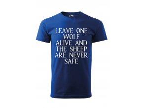 GOT leave one wolf alive černé P