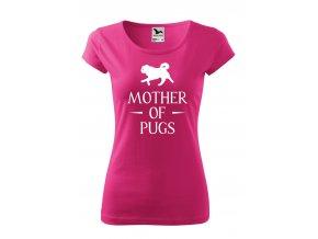 got mother of pugs bílé D
