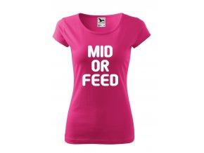 LOL mid or feed bílé D