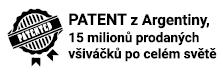 Patentovaný všiváček - BEZvší