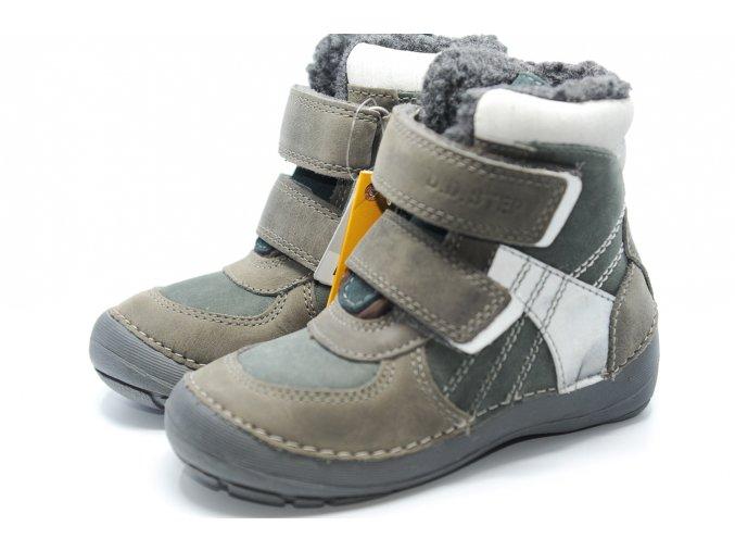 D.D.STEP zimné 023 dark grey