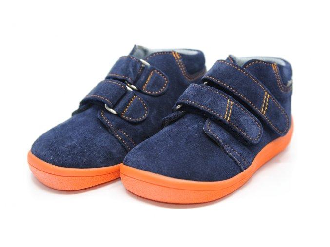 BEDA členkové topánky Blue Mandarine