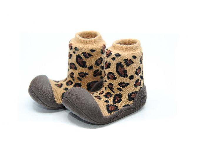 Attipas Animal Leopard Brown
