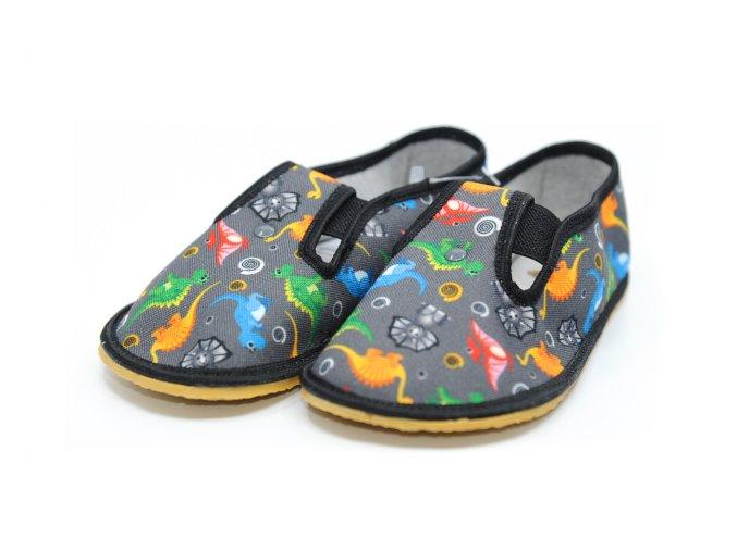 ANATOMIC papuče DINO s gumičkou