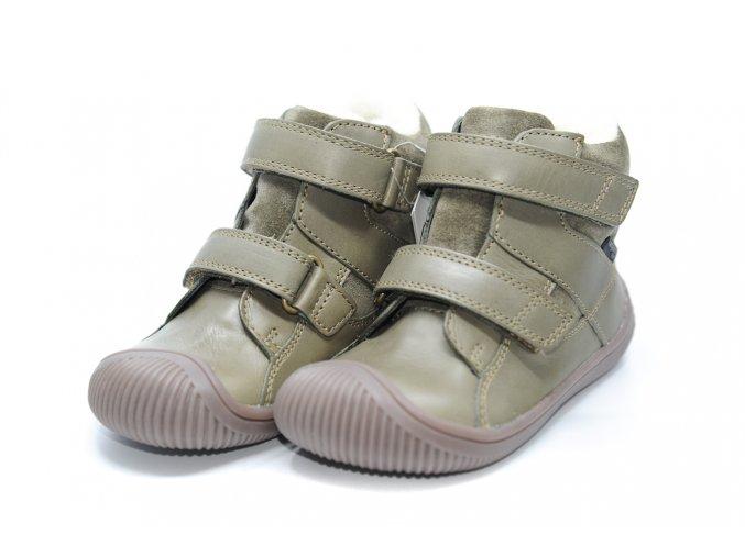 Bundgaard Walk Velcro Tex Army WS