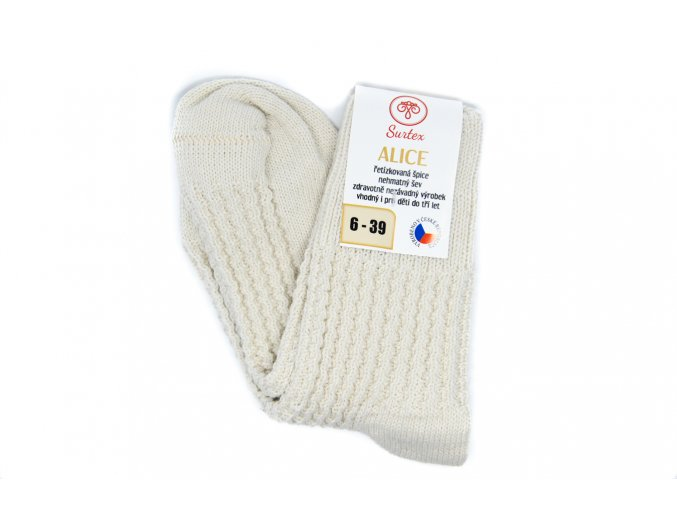 Merino ponožky Alice - Farmárky