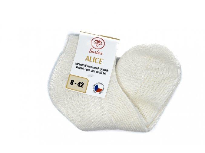 Merino ponožky Alice - členkové