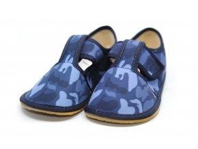Papučky 3F Navy Camo