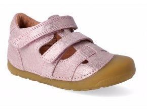 Bundgaard Pink Grille Petit Sandals
