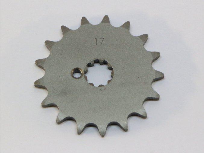 Řetězové kolečko 17 zubů Korádo Puch