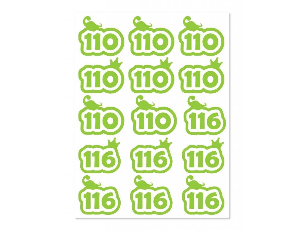 velikost 110 116