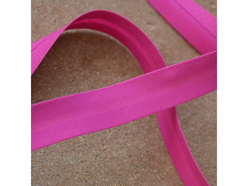 0,5 m šikmý proužek fialovorůžový 18 mm