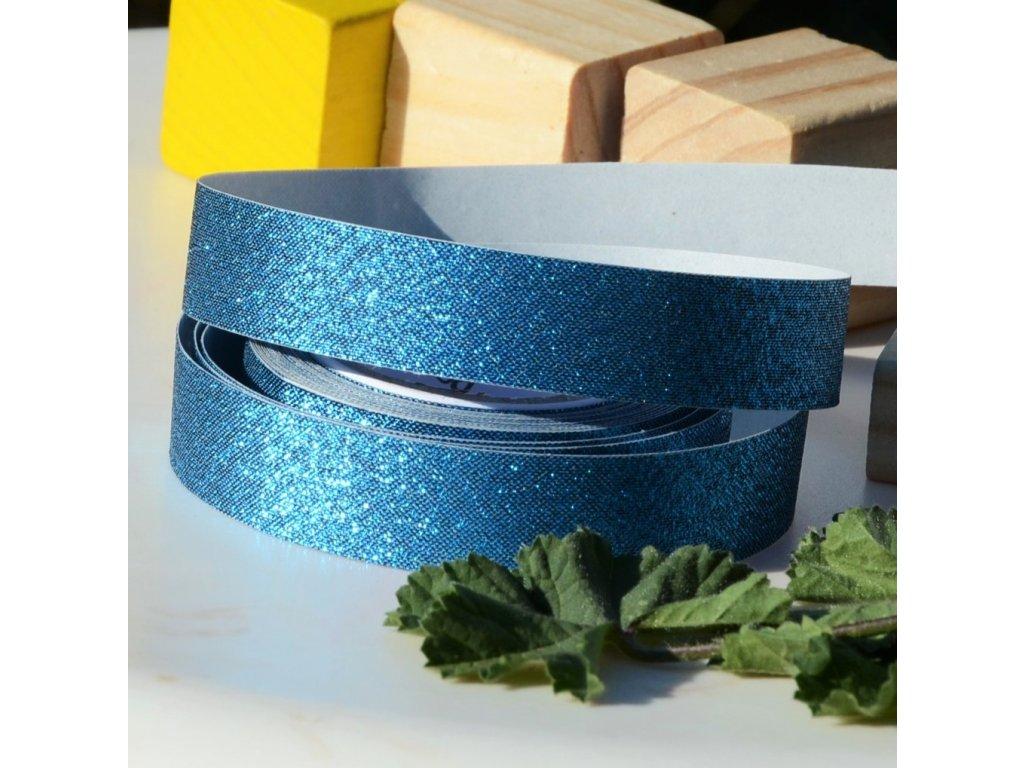 "látkopáska washiTex ""blue"" 15mm x 5m"