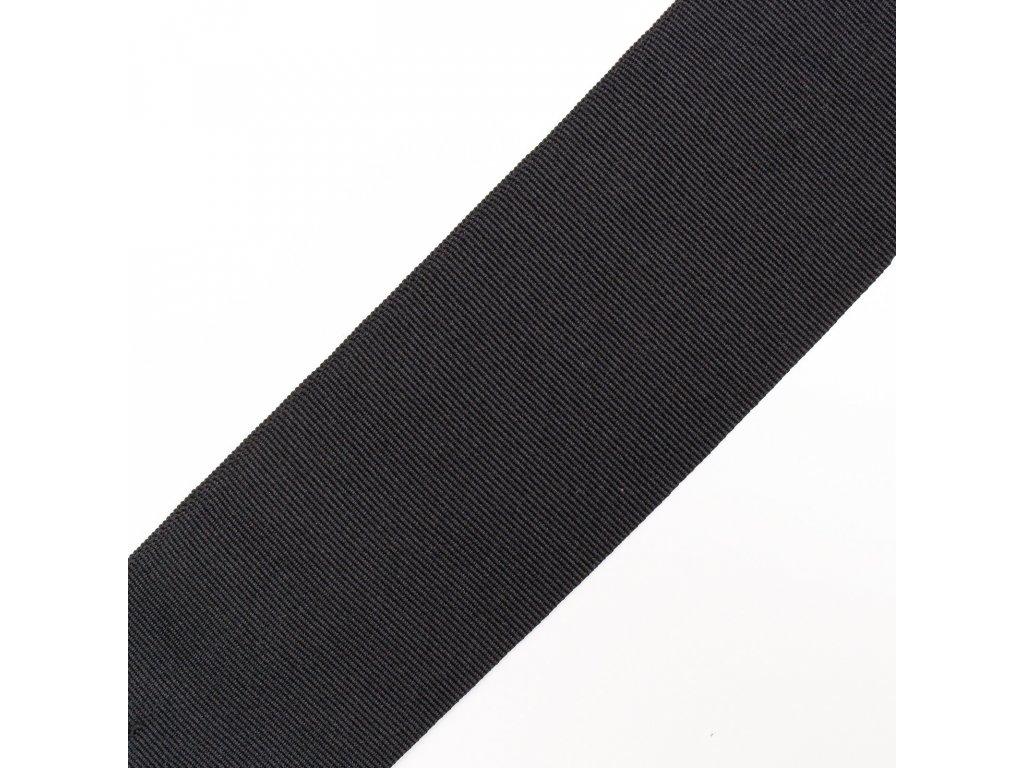 0,5 m rypsová stuha černá 3 cm