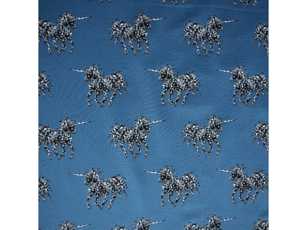 bio úplet Unicorn on Blue od MiaMea