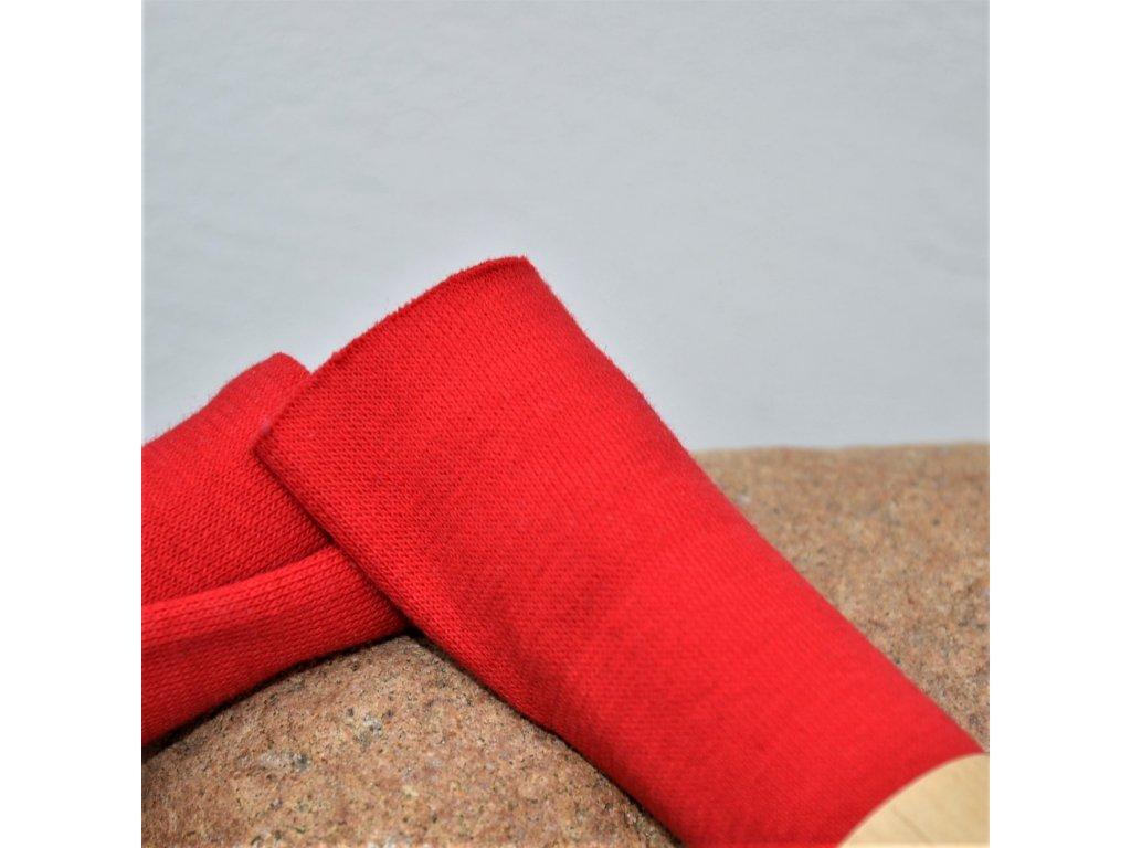 náplet jemný 15 x 70 cm červený