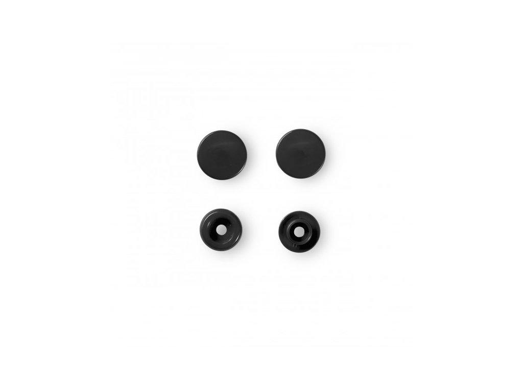 patentky kulaté Prym Color Snaps 12,4 mm černé