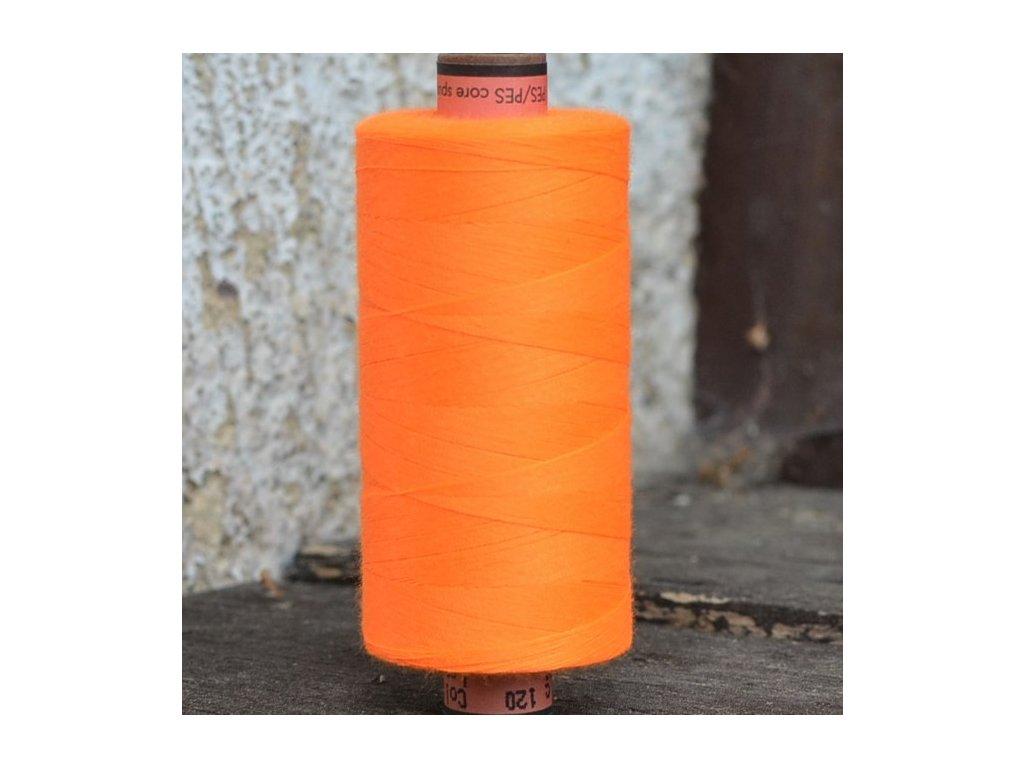 niť návin 1000 m oranžová neon - sabaC Amann