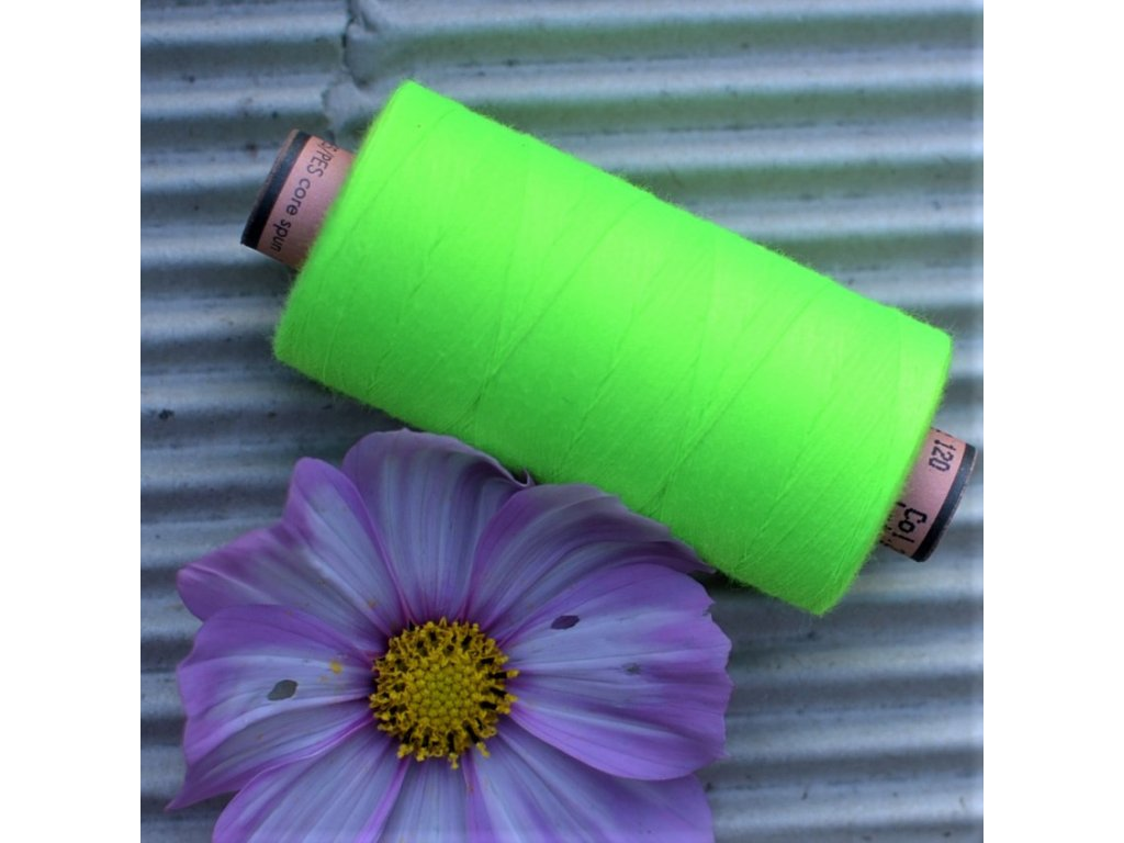 niť návin 1000 m zelená neon - sabaC Amann
