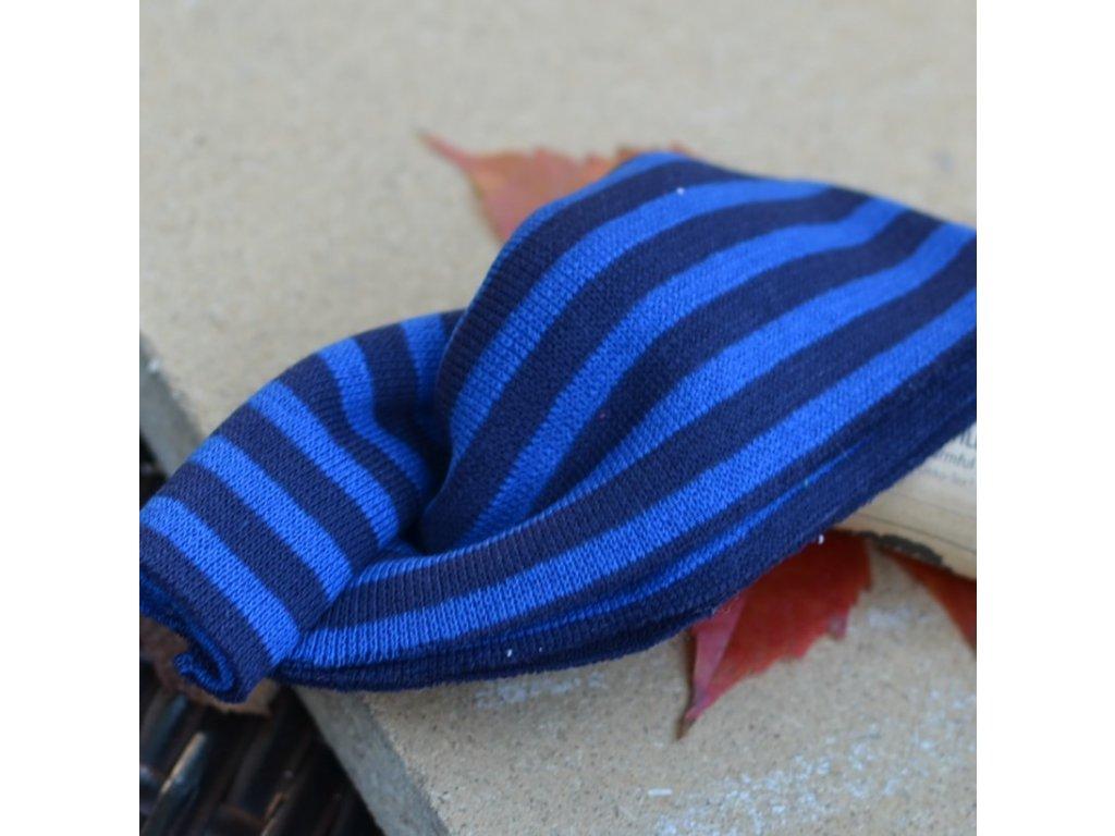 náplet jemný 15 x 70 cm blue stripes