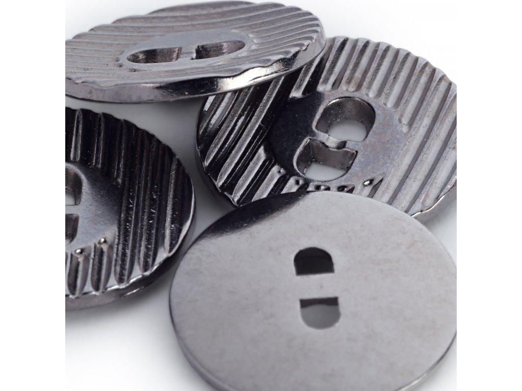Prym knoflíky kulaté 18 mm, kovové