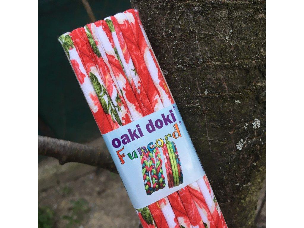 funcord 5 mm 2 metry - letní růže