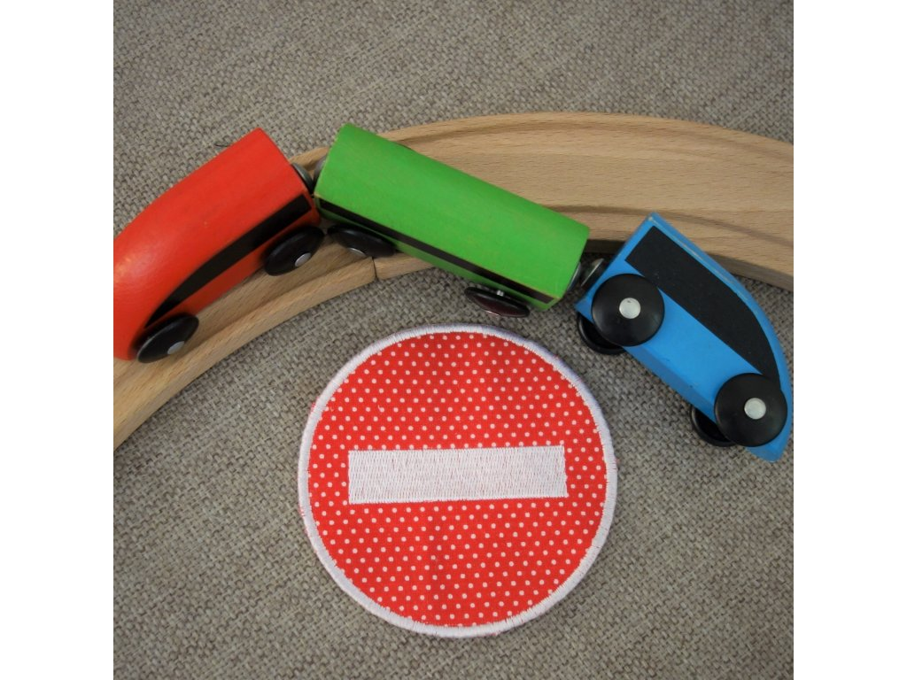 Nášivka Dopravní značka Zákaz vjezdu