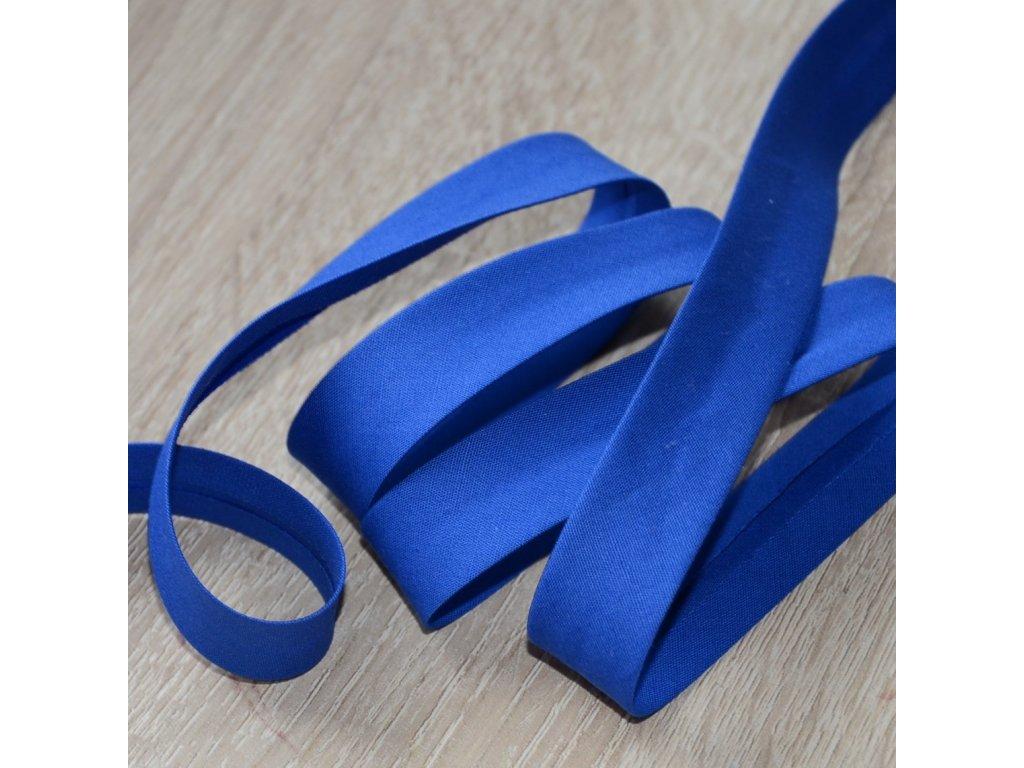 0,5 m šikmý proužek tmavě modrý plátno s elastanem