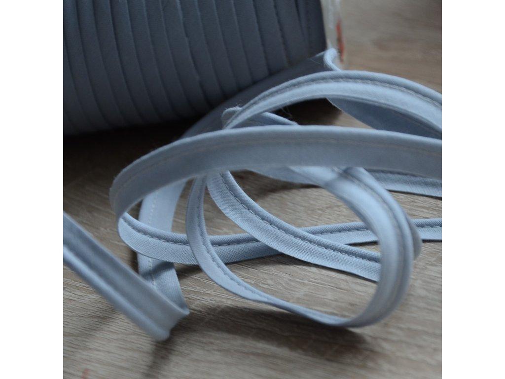 0,5 m paspule šedá 10 mm (bavlna)