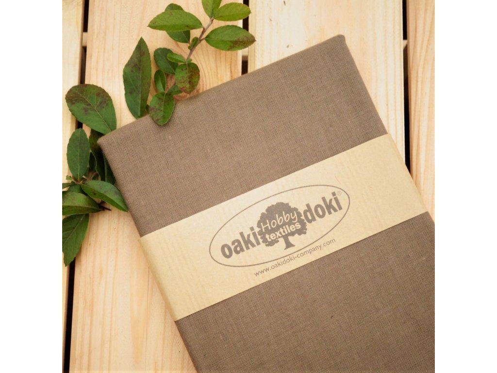 bavlna balíček 50x70 cm světlejší hnědá