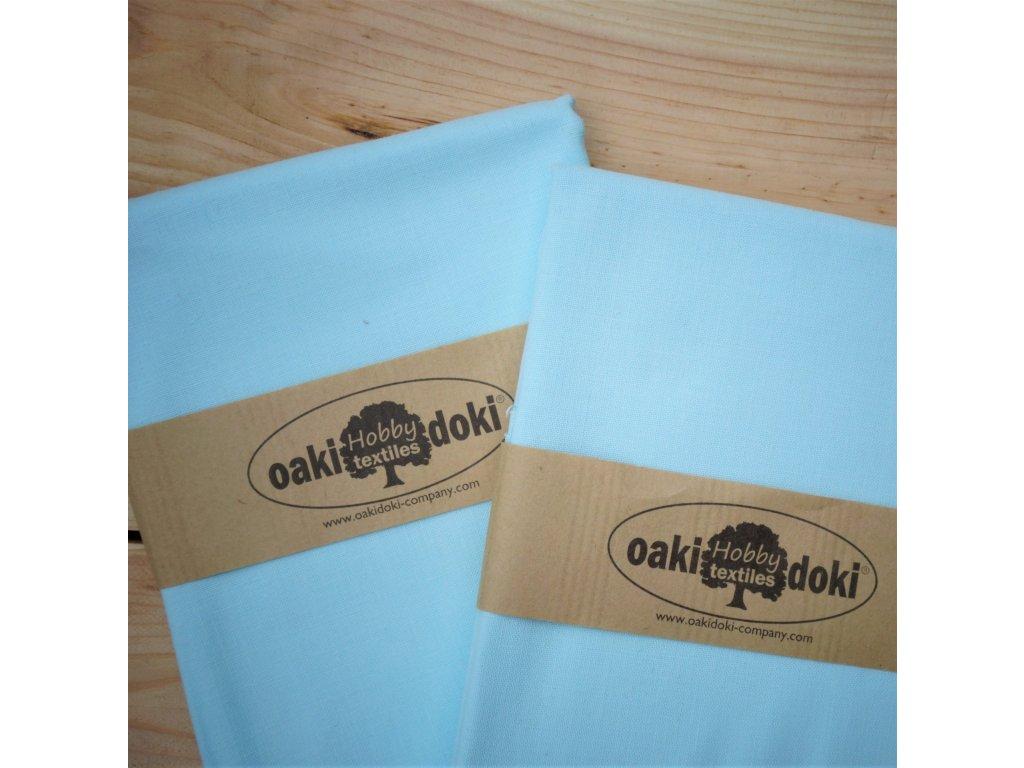 bavlna balíček 50x70 cm světlounce modrá