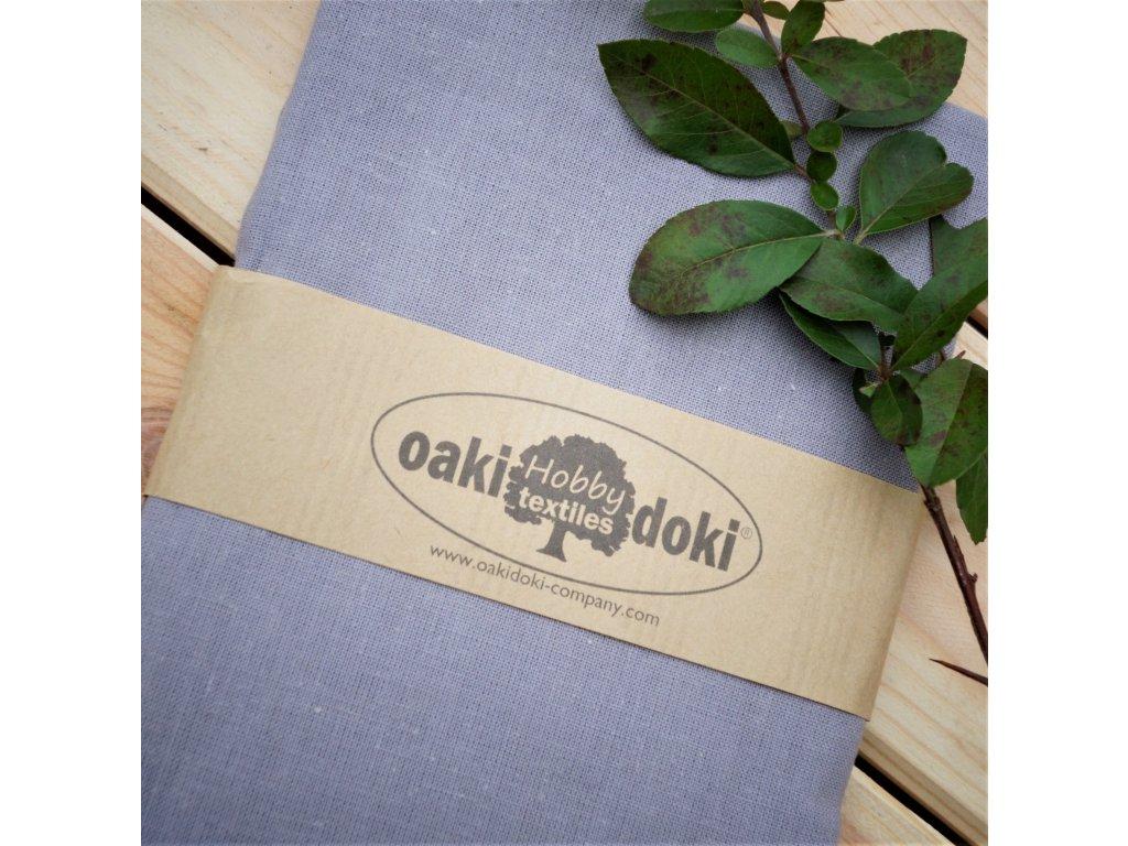bavlna balíček 50x70 cm šedá