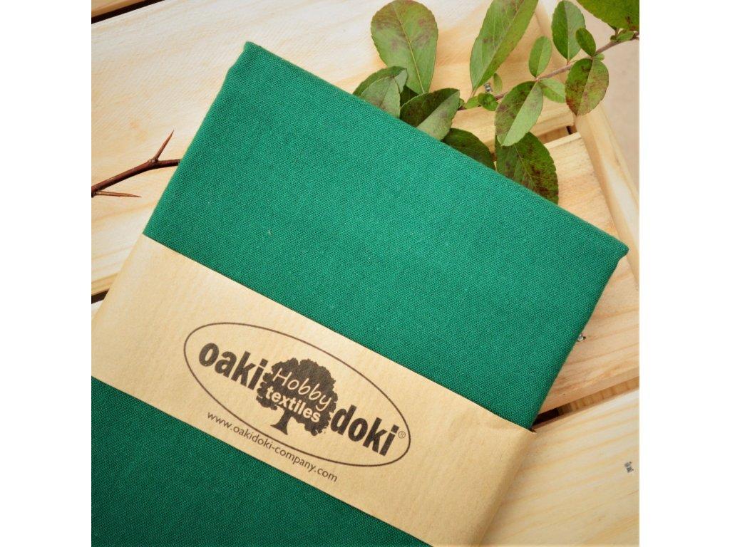 bavlna balíček 50x70 cm smaragdová