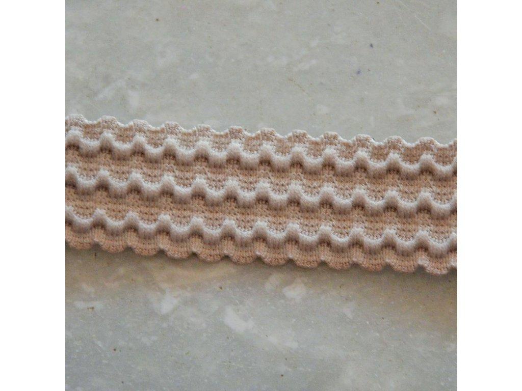0,5 m pruženka do pasu vlnovka tělová 25 mm