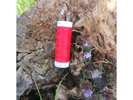 elastická niť SERAFLEX  červená - návin 130 m