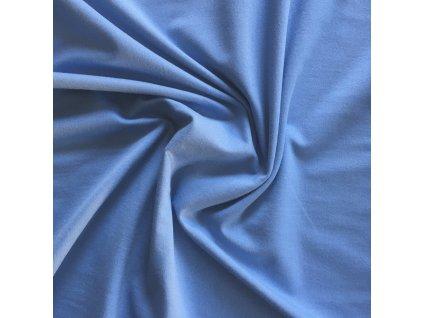 104 cm úplet jednolíc světle modrý