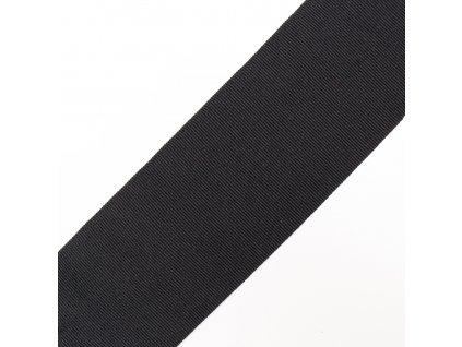 0,5 m rypsová stuha černá 5 cm