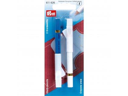značkovací tužka - křída bílá a modrá Prym