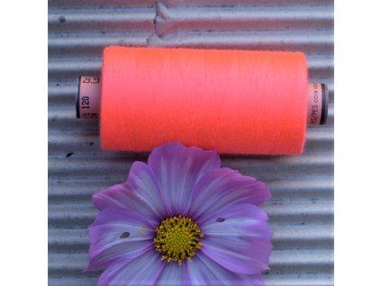 niť návin 1000 m růžová neon - sabaC Amann