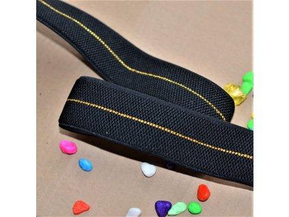 0,5 m guma do pasu Black Goldie 4 cm