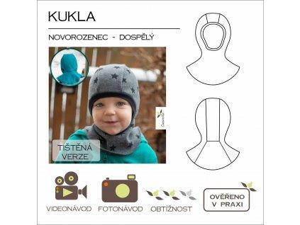 kukla (novorozenec - dospělý) - tištěný střih Caramilla