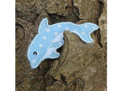 Nášivka Delfín