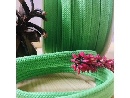 0,5 m proplétaná šňůra zelená 10 mm